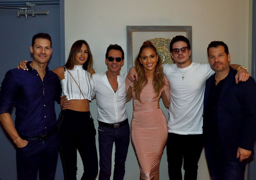 Jennifer Lopez & Marc Anthony Are Friendly Exes in Vegas