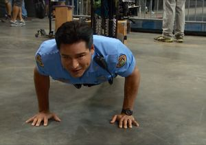 Mario Lopez's '22 Push-Up Challenge' for Michael Weatherly