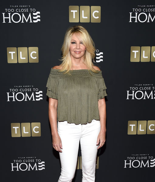 Heather Locklear Looks Red-Carpet Ready at 'Too Close to Home' Premiere After Suffering Cut Nose