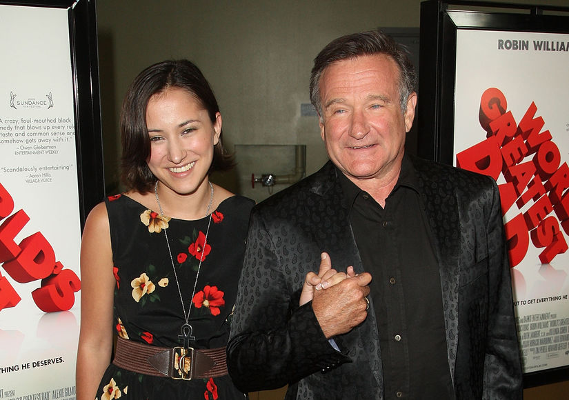 Video: Robin Williams' Daughter Zelda on Coping with Life After Her Father's Death