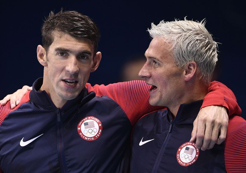 Michael Phelps Reacts to Ryan Lochte Lying Scandal