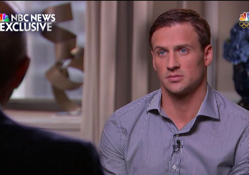 Teary Ryan Lochte Admits He 'Over-Exaggerated' Story of Rio Incident, Plus Jack Conger's Statement