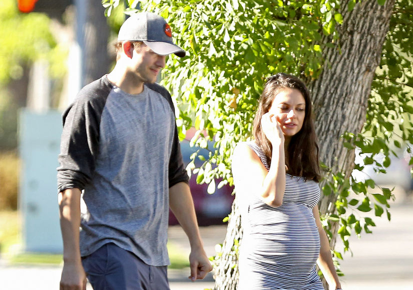 How Ashton Kutcher & Mila Kunis Are Getting Ready for Baby #2
