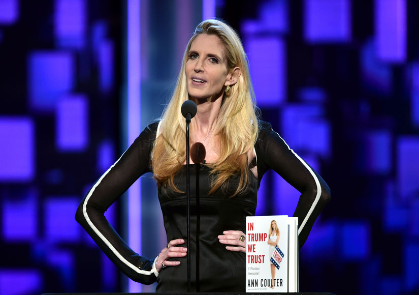 Ann Coulter on Donald Trump: 'He Does Need a Little Slap Now and Then'