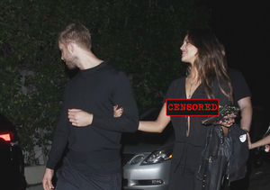 Calvin Harris Spotted with Liam Hemsworth's Ex… as She Suffers Major Wardrobe…