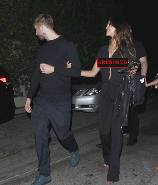 Calvin Harris Spotted with Liam Hemsworth's Ex… as She Suffers Major Wardrobe Malfunction!