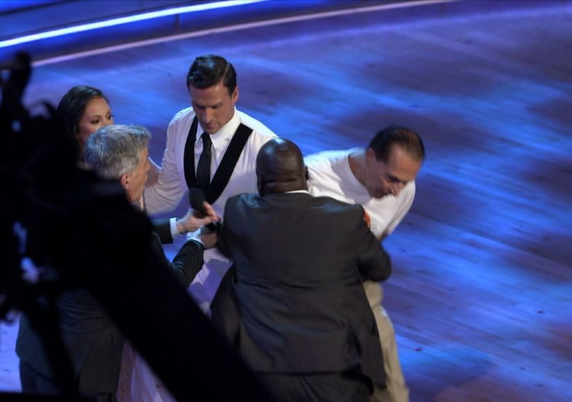 Why the Two Ryan Lochte Protesters Interrupted 'Dancing with the Stars'…