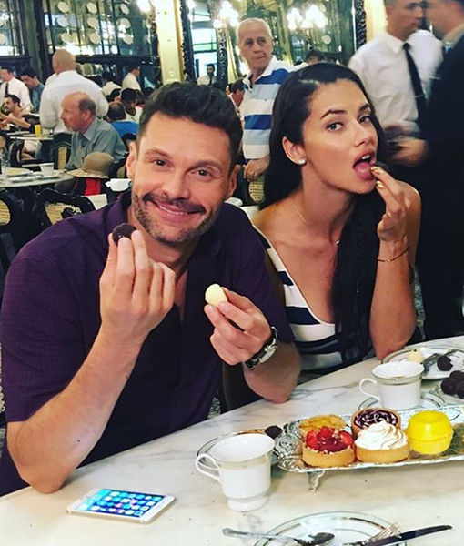 Is Ryan Seacrest Dating Adriana Lima?