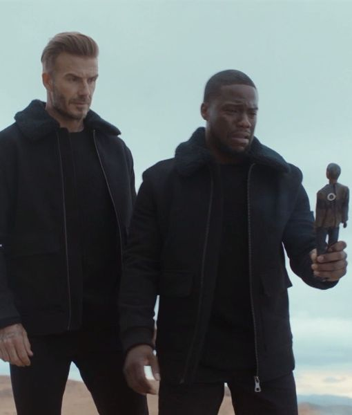 David Beckham & Kevin Hart Reunite for New H&M Campaign