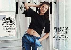 Why Shailene Woodley & Her Brother Hugged It out for Hours During Childhood