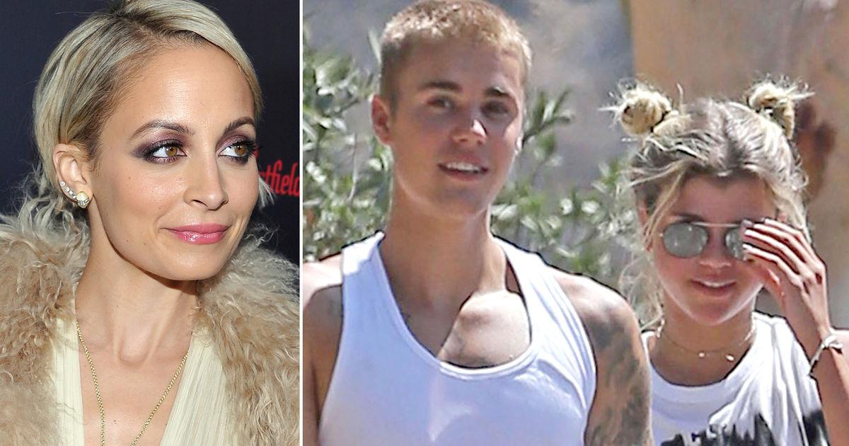 Rumor Bust Nicole Richie Is Not Worried Justin Bieber Will Get Her