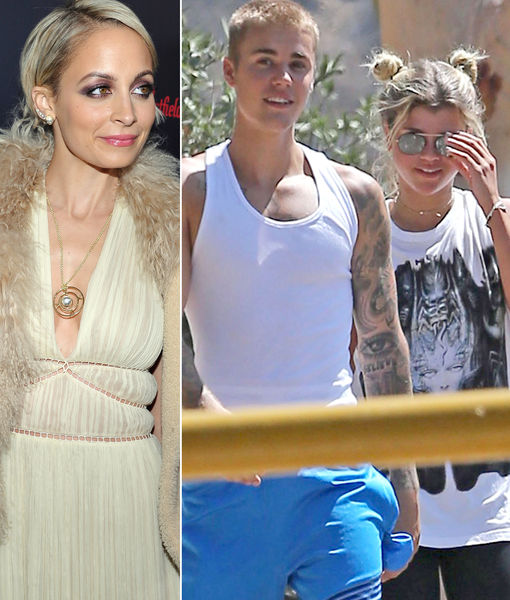 Rumor Bust! Nicole Richie Is NOT Worried Justin Bieber Will Get Her Sister Sofia Pregnant