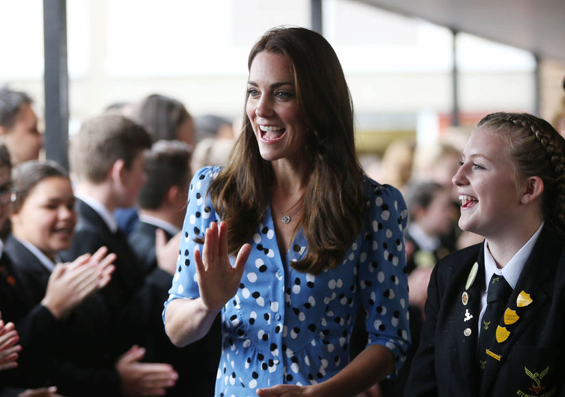 Princess Kate's Inspiring Message to Student: 'Never Give Up'
