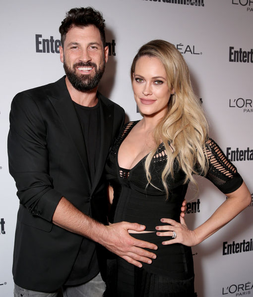 Parents-To-Be Maks & Peta Will Make Baby Their 'Little, Tiny Ring Bearer' at Wedding