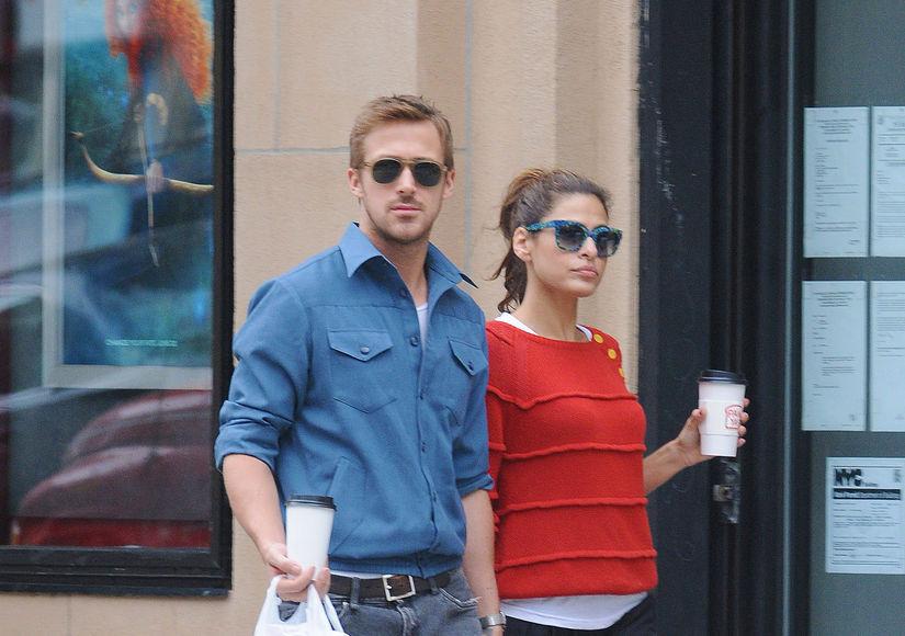 Eva Mendes' Response to Ryan Gosling's Golden Globes Acceptance Speech