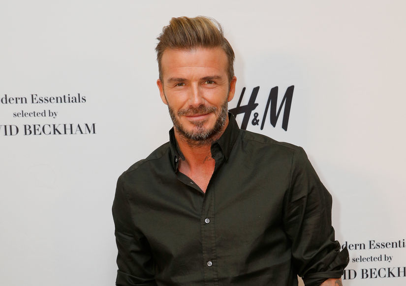 David Beckham Is Unrecognizable in New Movie Role ... Fergie Instagram