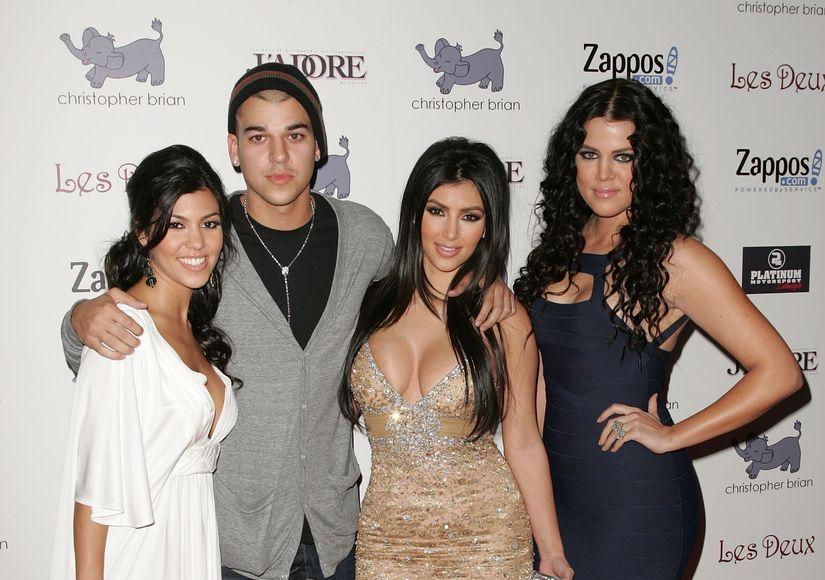Z kim Rob Kardashian