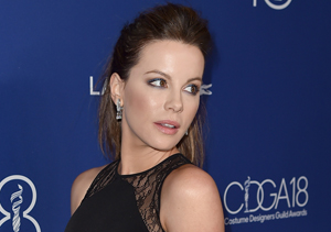 Kate Beckinsale Weighs In on Presidential Debate: 'I Had to Poke Myself in the…