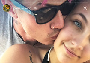 Paris Jackson Snapchat-Flaunts Vacation in Paradise with Boyfriend
