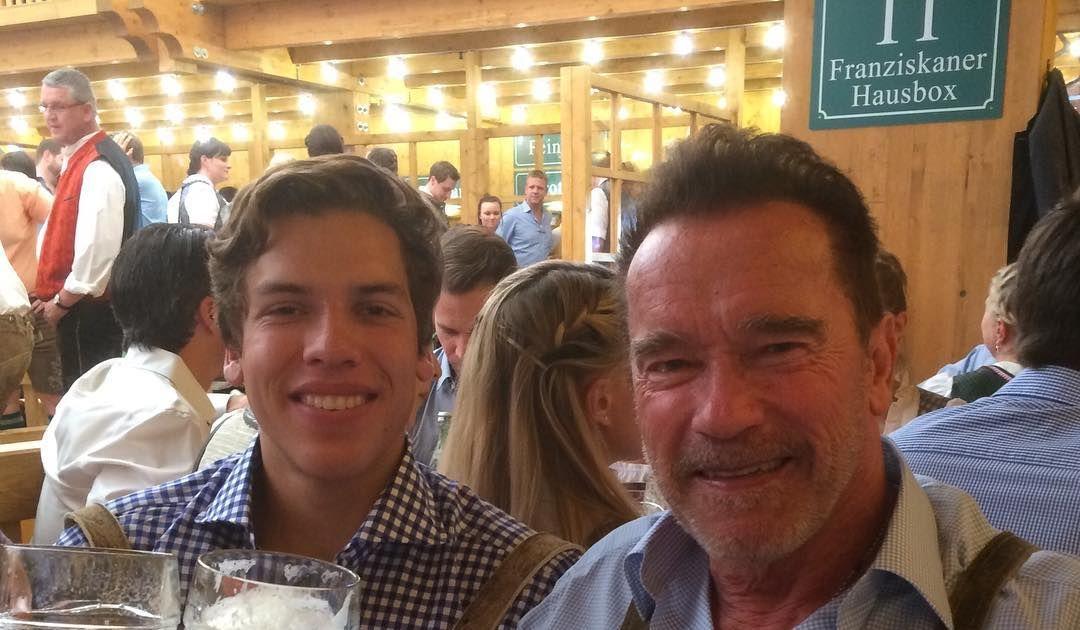 Arnold Schwarzenegger Celebrates His Look-Alike Son's 19th ...