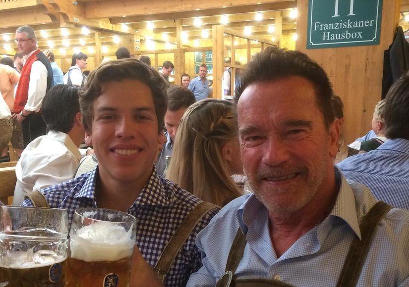 Arnold Schwarzenegger Celebrates His Look-Alike Son's 19th Birthday