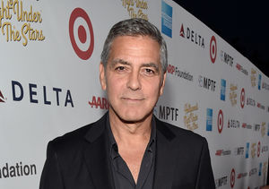 George Clooney Talks Twins!