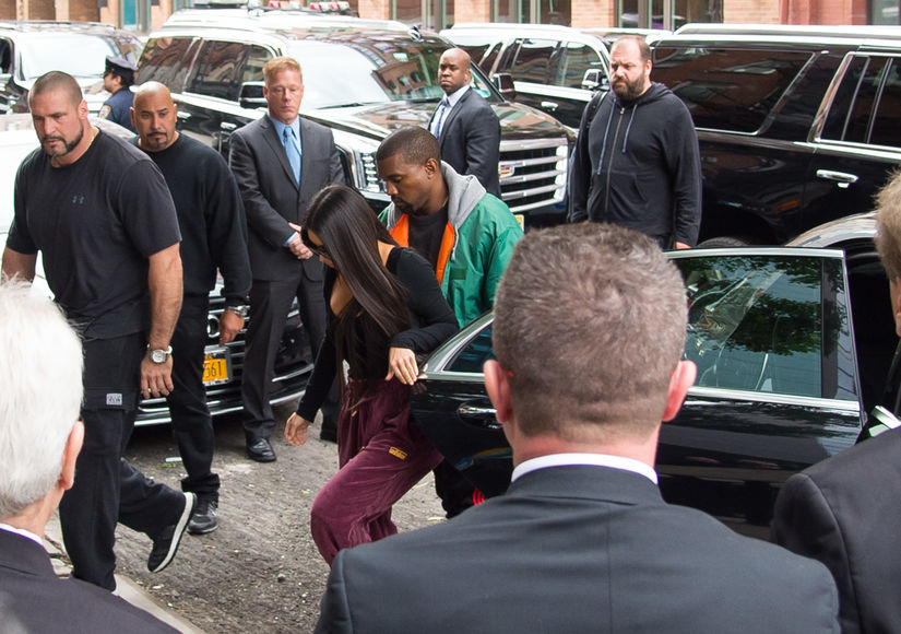 Under Heavy Security, Kim Kardashian Returns to NYC After Robbery