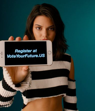 Leo, Kendall, Zendaya & Others Unite for #VoteYourFuture Campaign