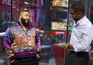 Video! DJ Khaled Stops by Our H&M Studios in Times Square!