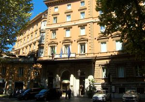Tour Hotel Majestic in Rome