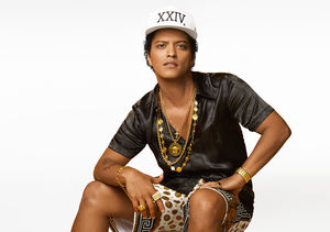 Bruno Mars Brings the Party to Las Vegas in '24K Magic' Music Video