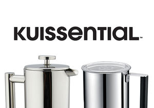 Win It! Kuissential Stainless Steel French Press and Deluxe Automatic Milk…