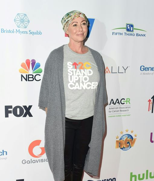 Tough Shannen Doherty Works Out Even After Chemo!
