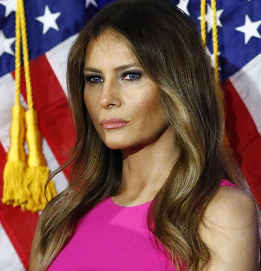 Melania on Trump's Groping Comments: 'I Hope People Will Accept His Apology'