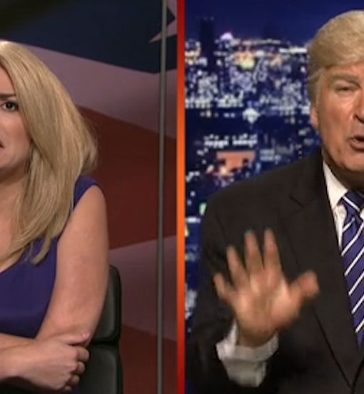 'SNL' Roasts Trump: 'I Can Do a Whole Lot More Than Just Grab It'