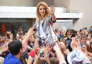Extra Scoop: Céline Dion Says She's Only Kissed One Man Ever