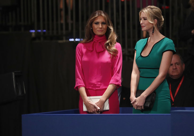 Melania Trump's Presidential Debate Blouse Is Quite the Statement After Donald's Lewd Comments