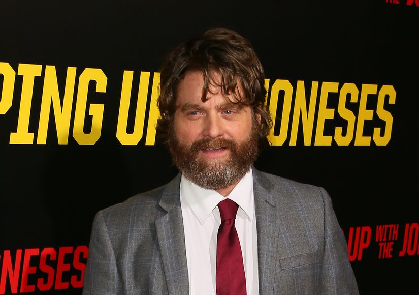 Zach Galifianakis Weighs In on Donald Trump