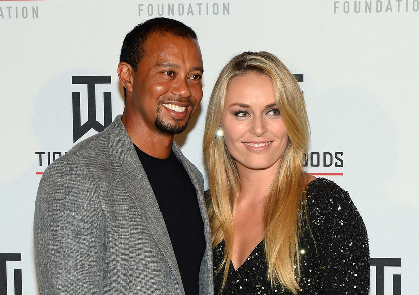 Tiger Woods & Lindsey Vonn's Naked Photos Hacked