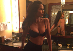 Padma Lakshmi Dishes on That Headline-Making Lingerie Photo