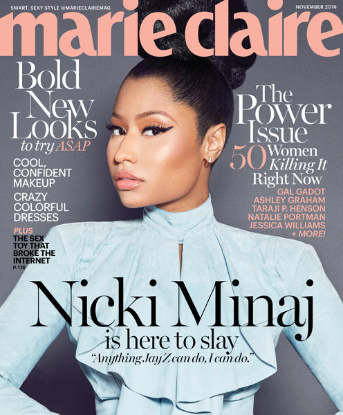 Nicki Minaj Talks Jay Z, Urges Young Women to Make Their Own Money!