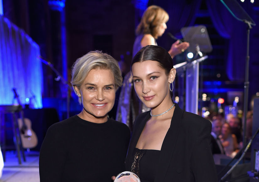 Yolanda and Bella Hadid Speak Out About Gigi's Caught-On-Camera Attack by…