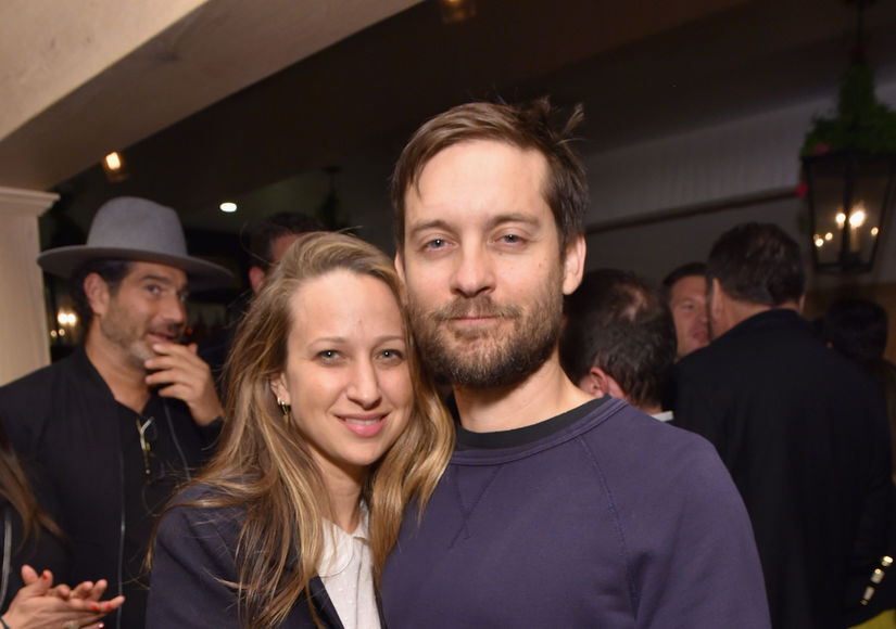 Tobey Maguire & Jennifer Meyer Reportedly Still Living Together Post-Split