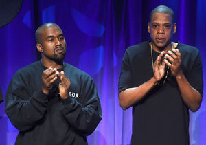 Extra Scoop: Rap Wars! Is Kanye West Feuding with Jay Z Over Their…