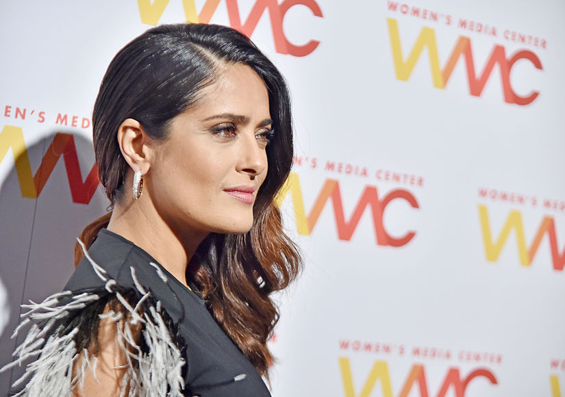 Salma Hayek Comes for Trump, Says He Badgered Her for Dates, Planted Gossip Item