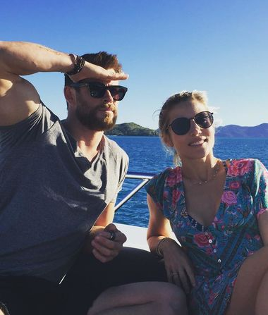Chris Hemsworth's Cheeky Response to Those Elsa Pataky Breakup…