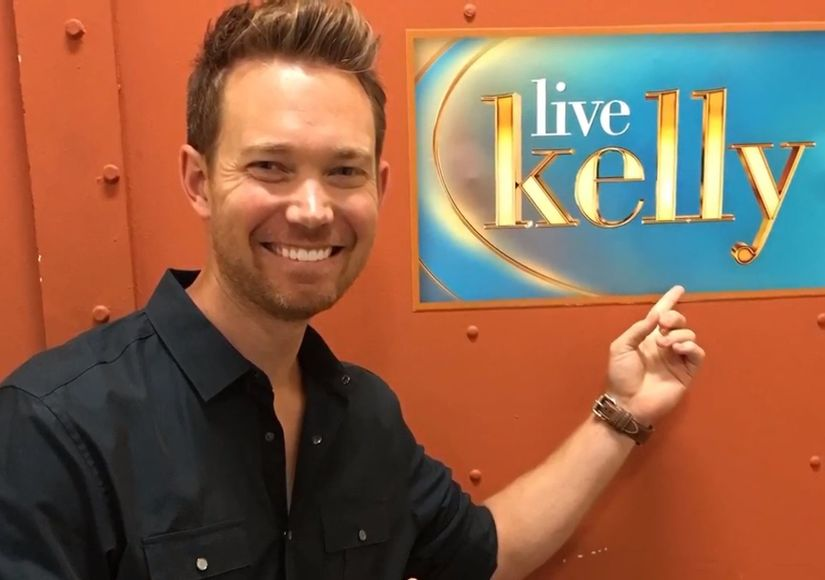 Dax Holt Wins Second Place in Kelly Ripa Co-Host Contest