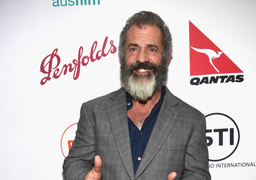 Mel Gibson Walks Red Carpet With Pregnant Girlfriend