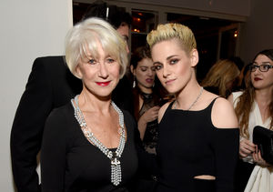 Watch Kristen Stewart & Helen Mirren Fangirl Over Each Other