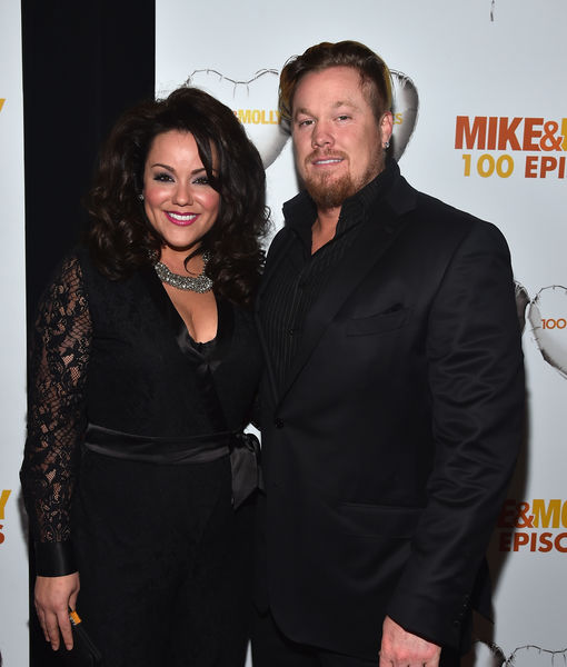Katy Mixon Gushes About 'Amazing' Fiancé Breaux Greer
